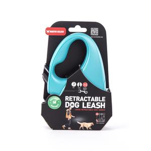 Laisse rétractable turquoise Instinct Sangle - taille XS 615061