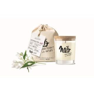 Bougie parfumée bio NAO, jasmin, 84x75x105 cm 615349