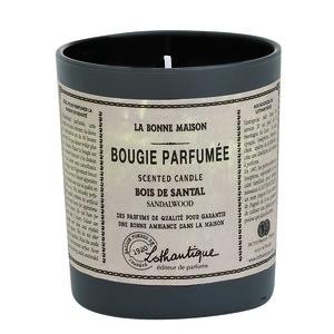Bougie ronde parfumée au Bois de santal - 160 gr 61615