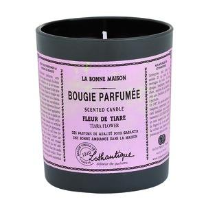 Bougie ronde parfumée à la Fleur de tiaré - 160 gr 61616