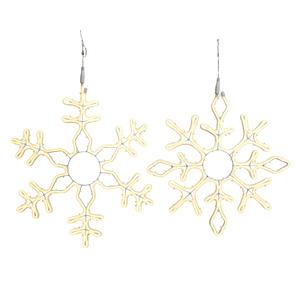 Flocon de neige LED - blanc chaud 617584