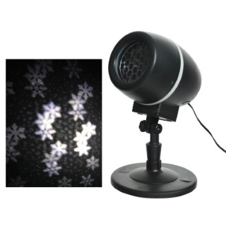 Lampe LED Flocon Tournant - Blanc froid 617593