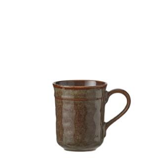 Mug en céramique Noah marron Ø 8,5cm 622763