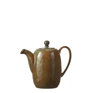Théière en céramique Noah marron Ø 16,5cm 622764