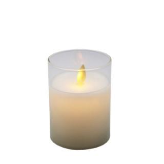 Bougie Magic Flame en verre 622790
