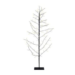 Arbre fil cuivre noir 147 LED H150cm 624178