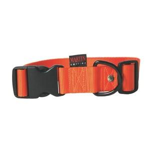 Collier chien réglable 40mm / 50-70cm orange 626684