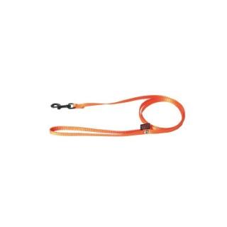 Laisse chien nylon 10mm / 120cm orange 626706