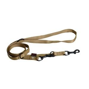 Laisse chien dressage 3pt 20 mm / 200 cm beige 626717