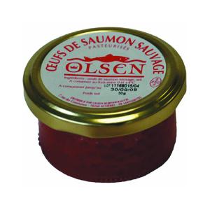 Œufs de saumon en verrine - 50 gr 632596