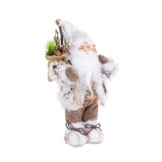Père Noël Nature à poser - H 13 cm 634952