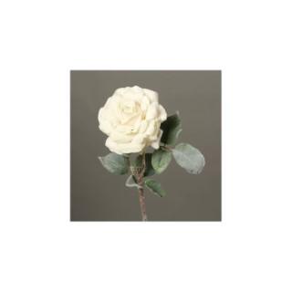 Rose enneigée H53 cm 635111