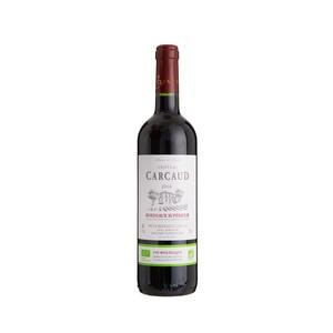 Vin rouge bio Château Carcaud Bordeaux supérieur. La bouteille 75 cl 635332