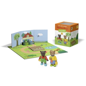Mon Petit Univers Petit Ours Brun - Le Jardin 3 à 6 ans Bayard Jeunesse 635738