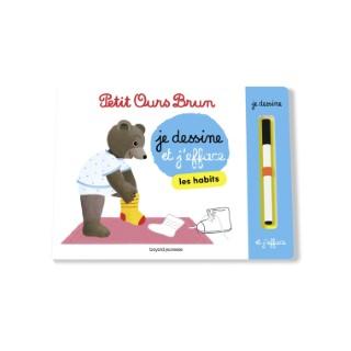 L'ardoise de Petit Ours Brun - Les Habits 2 à 4 ans Bayard Jeunesse 635740