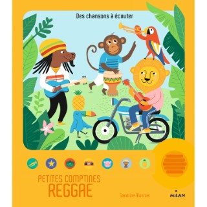 Petites comptines Reggae Contes et Comptines à Écouter 2 à 4 ans Éditions Milan 635754