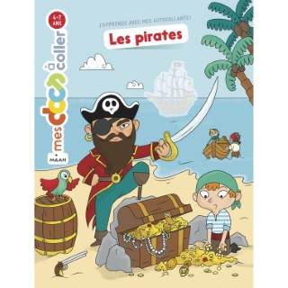 Les Pirates Mes Docs à Coller 3 à 6 ans Éditions Milan 635774
