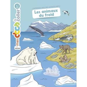 Les Animaux du Froid Mes Docs à Coller 3 à 6 ans Éditions Milan 635775