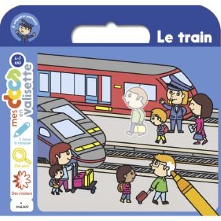 Le Train Mes Docs en Valisette 3 à 6 ans Éditions Milan 635786