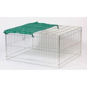 Enclos exterieur rectangulaire pour lapins ou poules. 638138