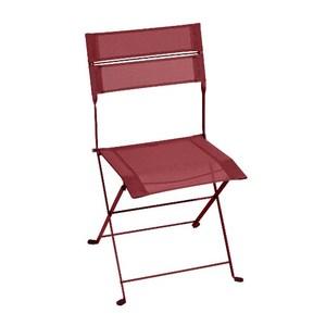 Chaise Latitude monochrome rouge piment 50 x 49 x 87 cm 641630