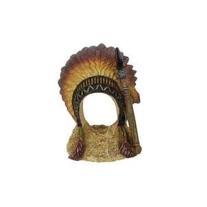Décoration de coiffe indienne en polyrésine 7,8x7xH9,8 cm 645338