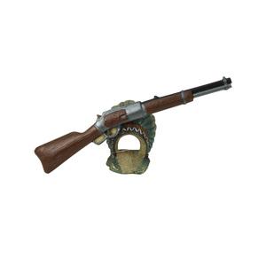 Décoration de carabine et coiffe en polyrésine 17,5x4,5xH9,2 cm 645340
