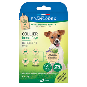 Collier insectifuge pour chiot 35 cm 646688