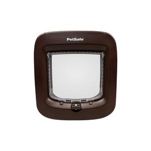 Chatière à puce électronique Petsafe marron 22 x 23,9 cm 646998