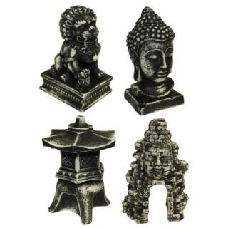 Figurine aqua Asie noire 647541