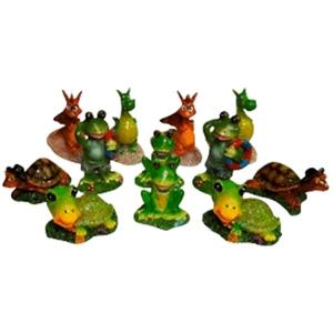 Figurine animale pour aquarium 8x5x7 cm 647542