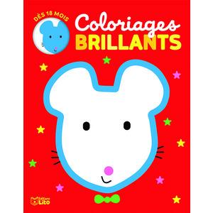 La souris - Coloriage brillant 650329