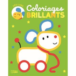 Le chien - Coloriage brillant 650331