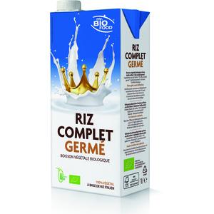 Lait de riz complet germé en brique de 1 L 650366