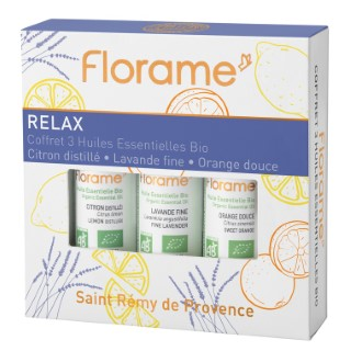 Coffret Relax flacons 3x10 ml violet 651087