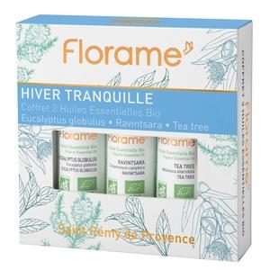 Coffret Hiver Tranquille flacons 3 x 10 ml bleu 651089