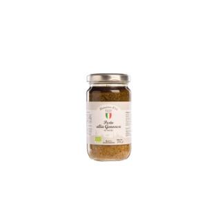 Pesto au basilic bio. Le bocal de 190 g 651132