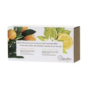Coffret de Galets effervescents aux huiles essentielles bio sachet 10 w 30 g blanc 651146