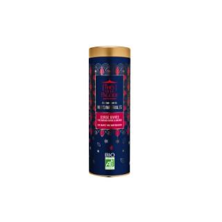Thé bio édition limitée Cerise givrée en boite métal cylindrique 80 g 652067