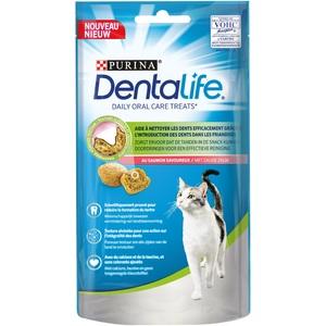 Snack à mâcher pour chat Dentalife Cat Saumon 40 g 652076