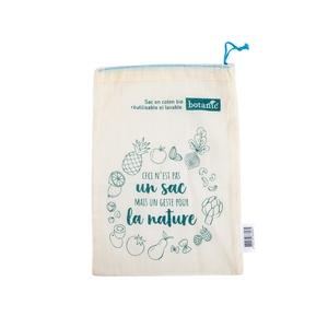 Sac à vrac taille S botanic® en coton bio 652134