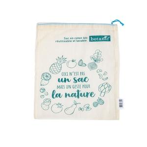 Sac à vrac taille L botanic® en coton bio 652136