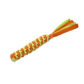Jouet pour chien Scouby taille M orange et jaune Ø 4 x L 51 cm 652580