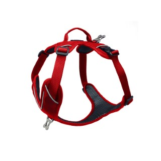 Harnais Momentum Taille 4 Circonférence cage thoracique 65-82cm Rouge 652969