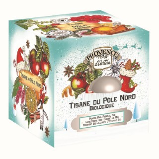 Tisane du Pôle nord 24 sachets en boite cube métal 653026
