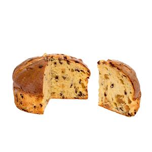 Panettone bio aux poires et pépites de chocolat en sachet de 500g 653028