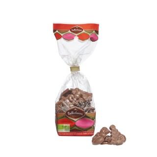 Friture de Noël au chocolat au lait en sachet de 120 g 653979