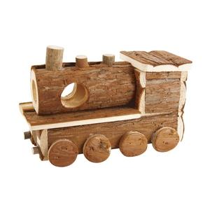 Maison en bois locomotive 24 cm 654024