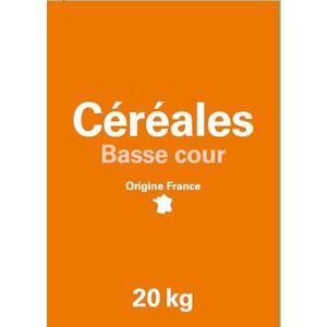 Mélange blé et maïs concassé pour oiseaux de basse-cour 20 kg 654296