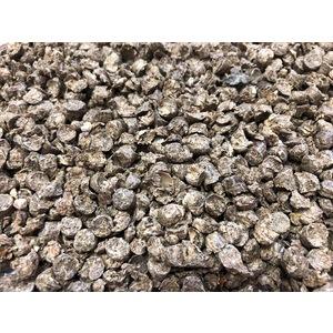 Litière en granulés de paille émiettée bio en sac de 16 kg 654305